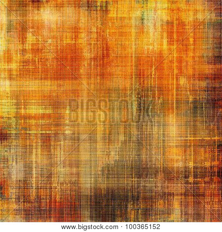 Vintage texture with space for text or image. With different color patterns: yellow (beige); brown; red (orange); gray