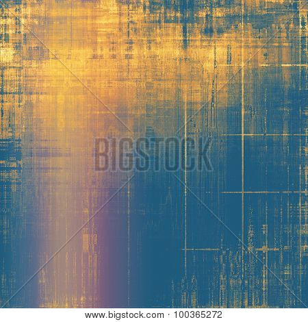 Vintage old texture for creative retro background. With different color patterns: yellow (beige); brown; blue; pink