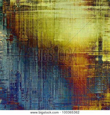 Old antique texture (for background). With different color patterns: yellow (beige); brown; blue; purple (violet)