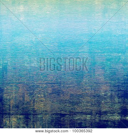 Abstract retro background or old-fashioned texture. With different color patterns: yellow (beige); blue; cyan; green