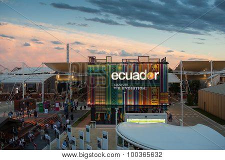 Ecuador Pavilion At Expo 2015
