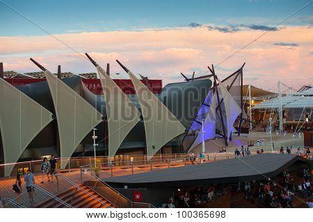 Kuwait Pavilion At Expo 2015