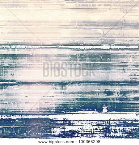 Grunge aging texture, art background. With different color patterns: yellow (beige); blue; pink; gray