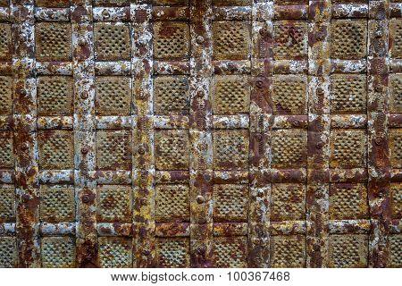 Vintage Rusty Iron Background