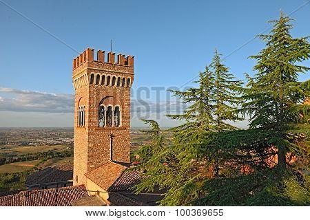 Landscape Of Bertinoro, Emilia Romagna, Italy