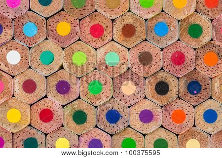 Pattern Colour Pencils Texture And Background