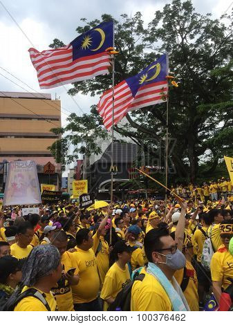 Bersih Rally for Free Fair Elections, Malaysia