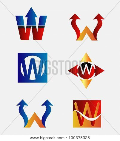 Letter W logo icon design