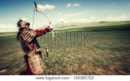 History Archery Independent Mongolia Warrior Concept