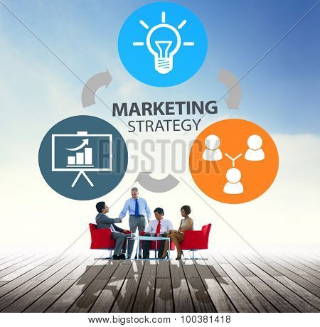 Marketing Strategy Branding Commercial Advertisement Plan Concept