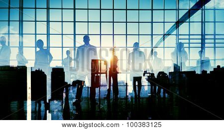 Business People Meeting Conference Concepts