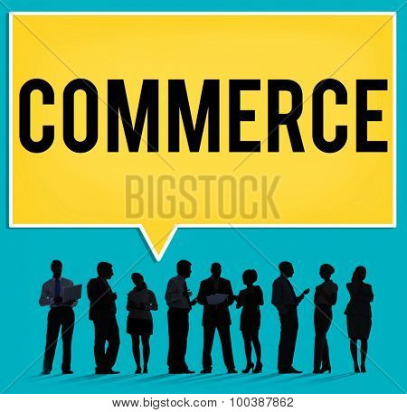 Commerce Marketing Buy Customer Business Concept