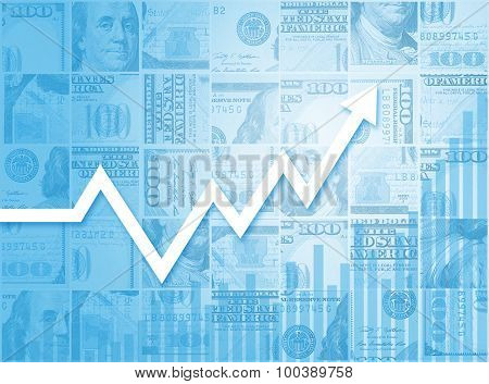 Business Growth Financial Stock Market Bar Chart Graph
