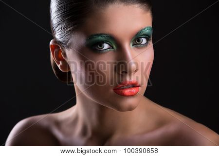 Beauty portrait of a girl