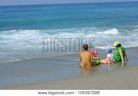 Admiring The Sea