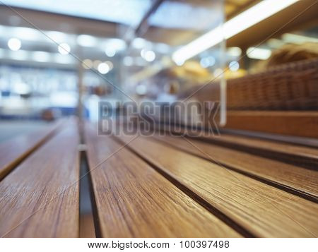 Table Top With Shelf Supermarket Display Perspective