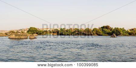 Aswan Nile Panorama