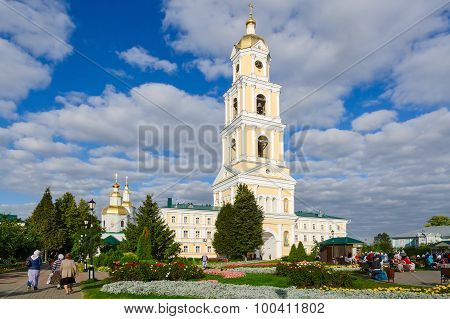 Belfry On Territory Of Holy Trinity Seraphim-diveevo Convent, Diveevo, Russia