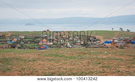 Huzhir, Baikal, Russia