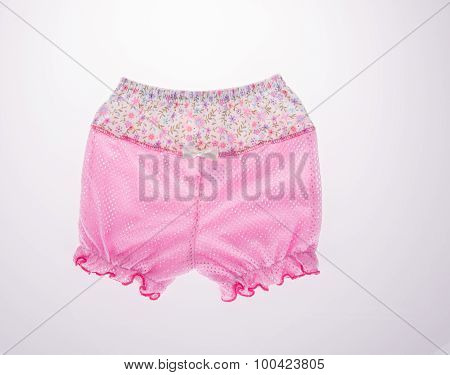 Kids Pants Isolated On The Background
