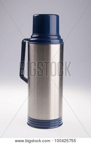 Thermo, Thermo Flask On Background.