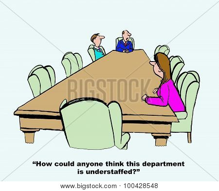 Department Is Understaffed