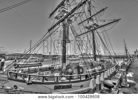 Hobart Sailing ship