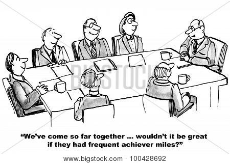 Frequent Achiever Miles