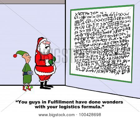 Christmas Elves Logistics Formula