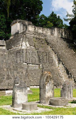Copan Mayan Ruins In Guatemala,