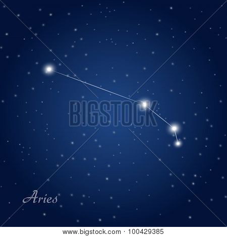 Aries constellation zodiac