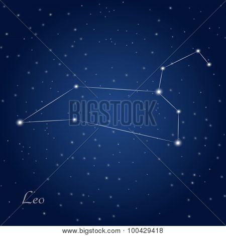 Leo constellation zodiac