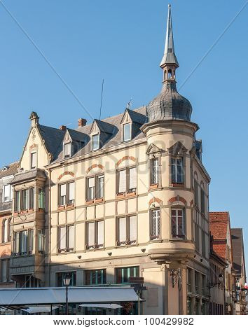 Corner House In Colmar