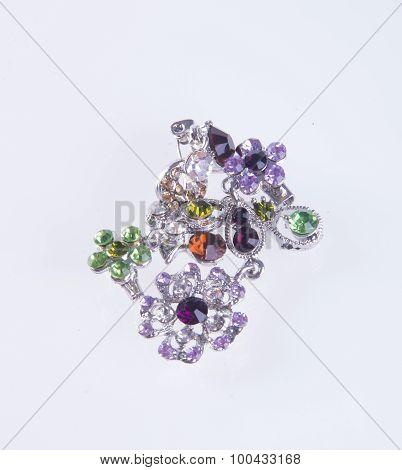 Jewelry. Jewelry On The Background