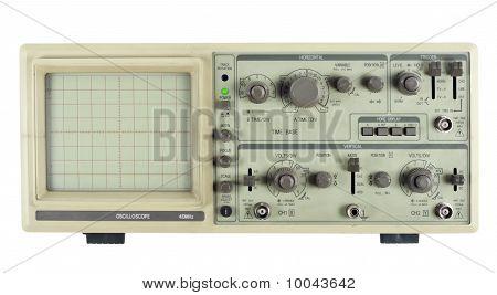 Old Analogue Oscilloscope