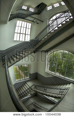 Staircase In The Esher Style