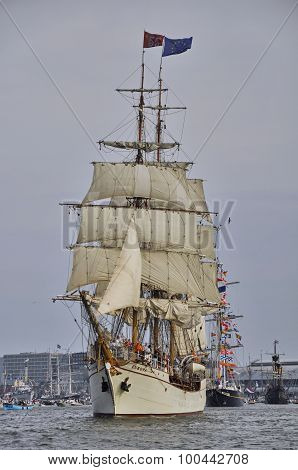 The Europa On The Ij River
