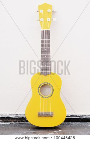 The image of a guitar