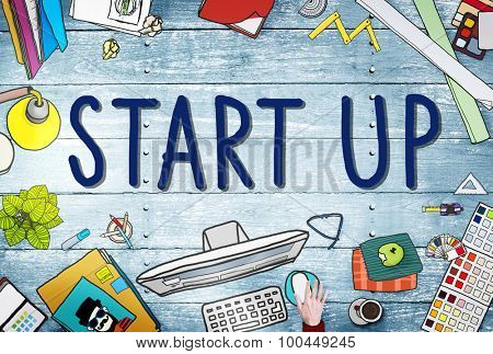 Start up Business Opportunity Development Success Concept