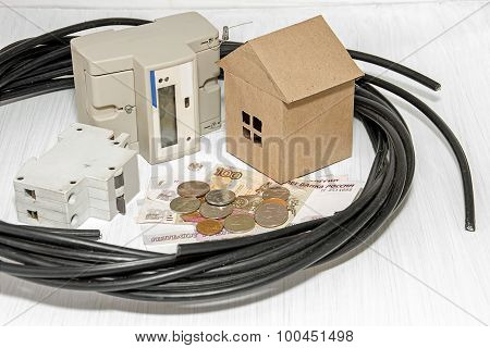 Connection To The Power Grid Of A Private House