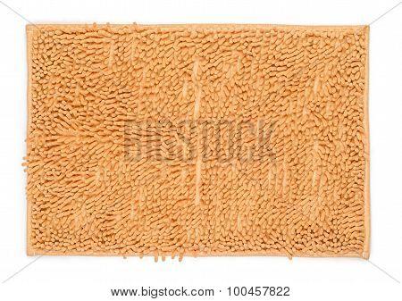 Beige Carpet Isolated