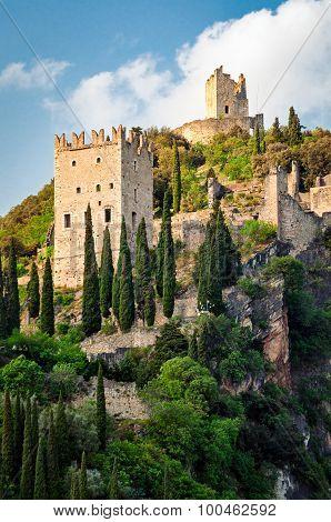 Castello Di Arco - Arco Castle (trentino, Italy) Portrait Format