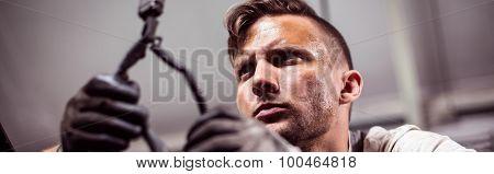 Automotive Technician Working