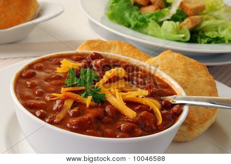 Hearty Bowl Of Chili