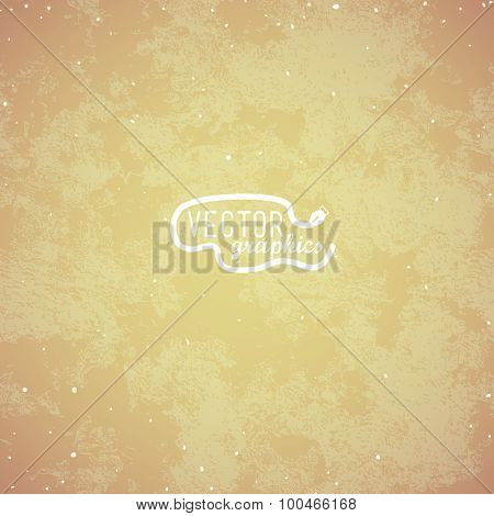Brown paper texture. Vector background