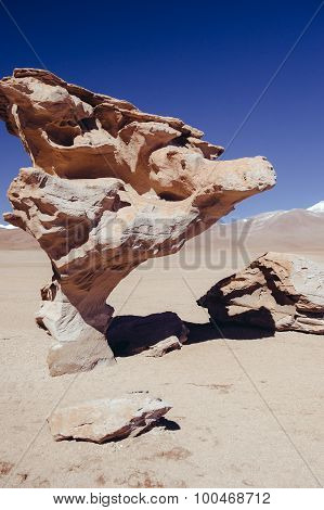Siloli Desert in Bolivia
