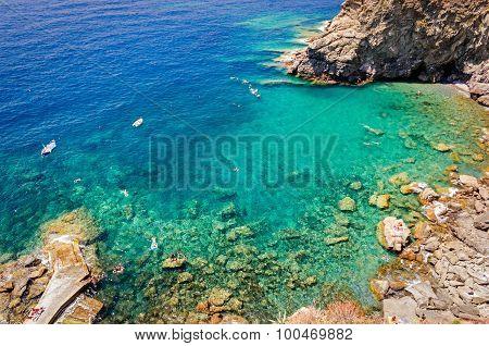 Corniglia (Cinque Terre), Guvano beach