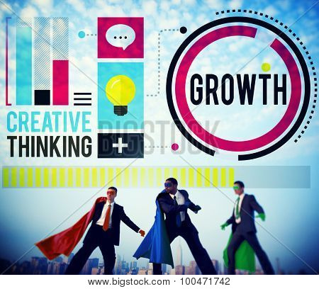 Growth Improvement Development Success Business Concept