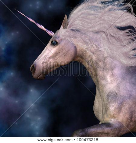 Dapple Grey Unicorn
