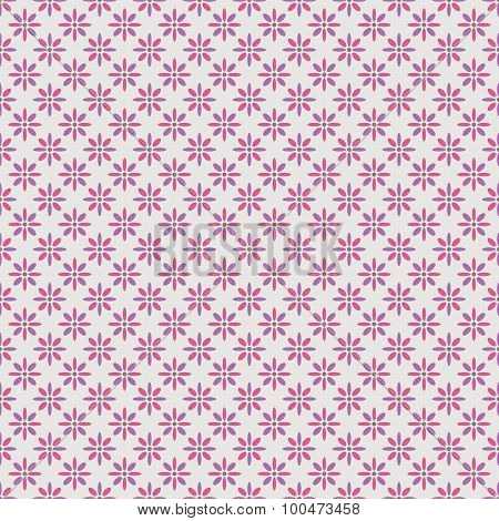 Beautiful  seamless pattern. Pink, purple